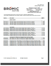 Bromic Heaters Price Change