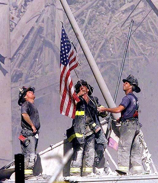 Raise the Flag at Ground Zero