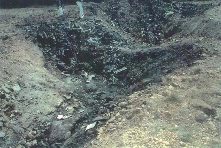 Shanksville crater